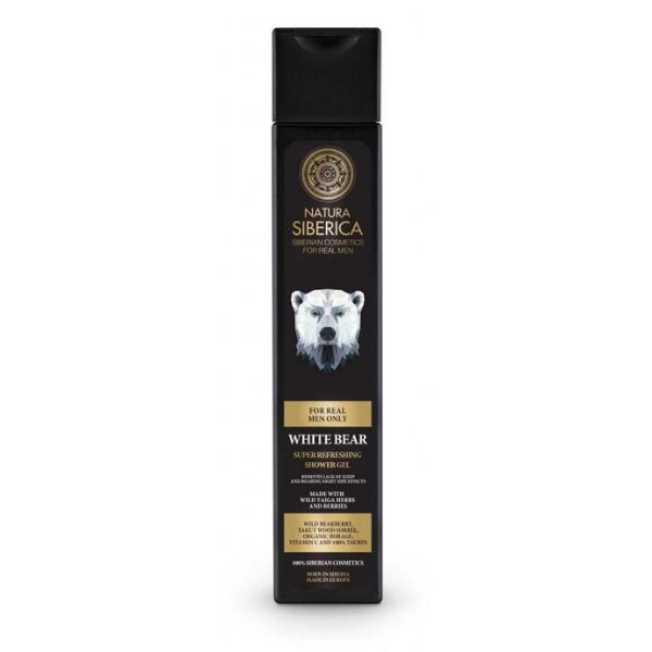 Osviežujúci sprchový gél Biely medveď  Natura Siberica 250 ml
