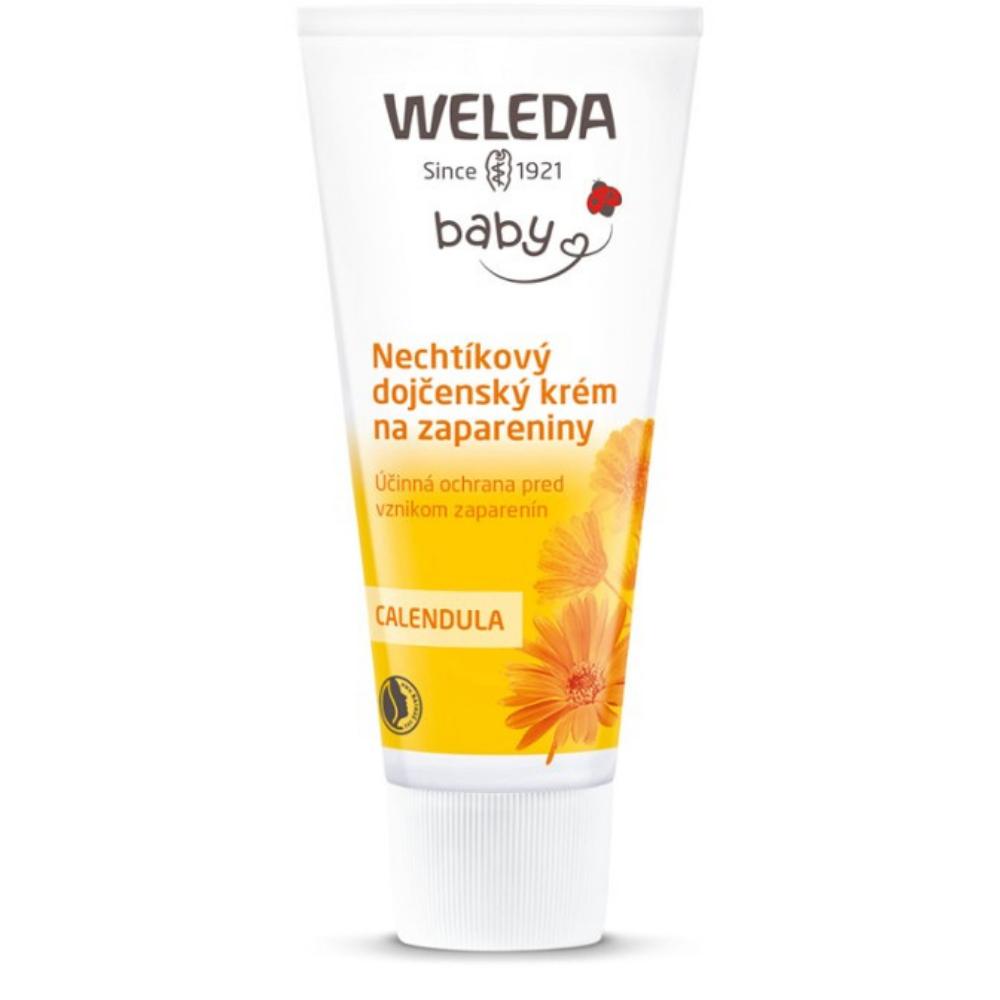 Nechtíkový dojčenský krém na zapareniny Weleda 75 ml