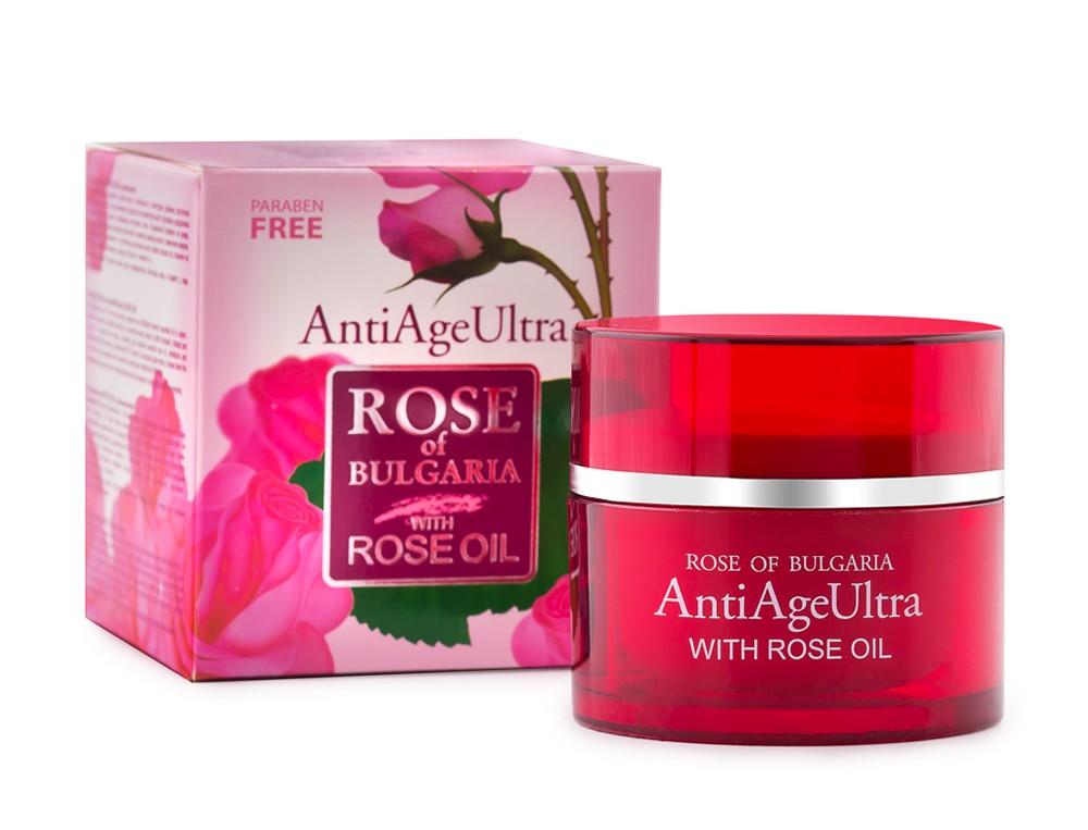 Pleťový krém proti vráskam s ružovým olejom 50ml Biofresh