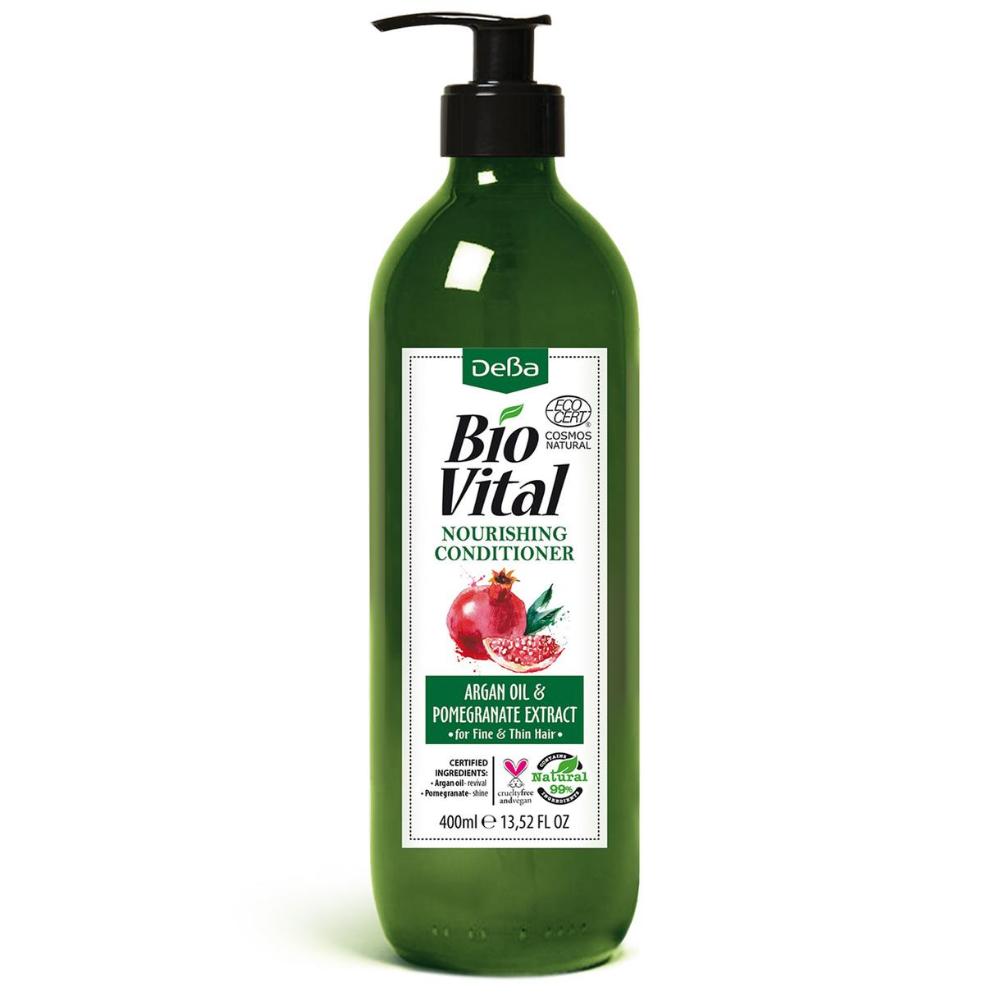 Vyživujúci kondicionér s arganovým olejom BioVital DeBa 400 ml