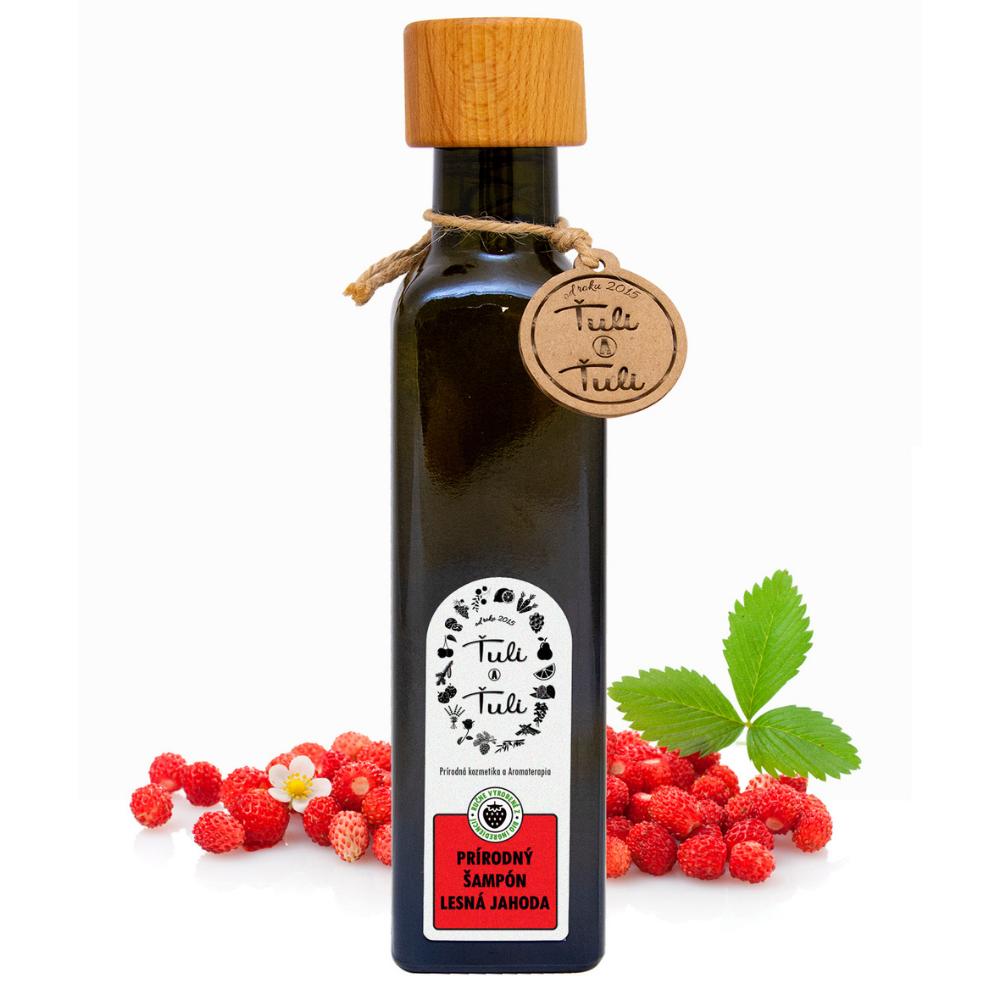 Prírodný šampón lesná jahoda Ťuli a Ťuli 250 ml