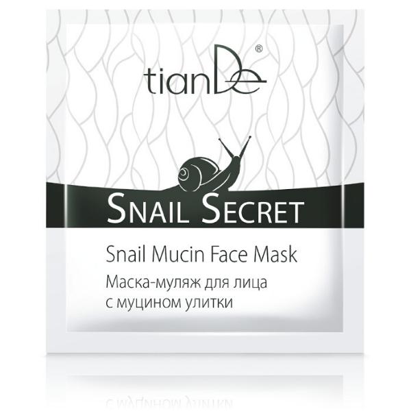 Maska na tvár s mucínom slimáka TianDe 1ks