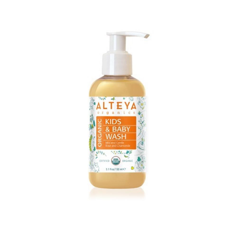 Organický detský sprchový gél Alteya 150ml