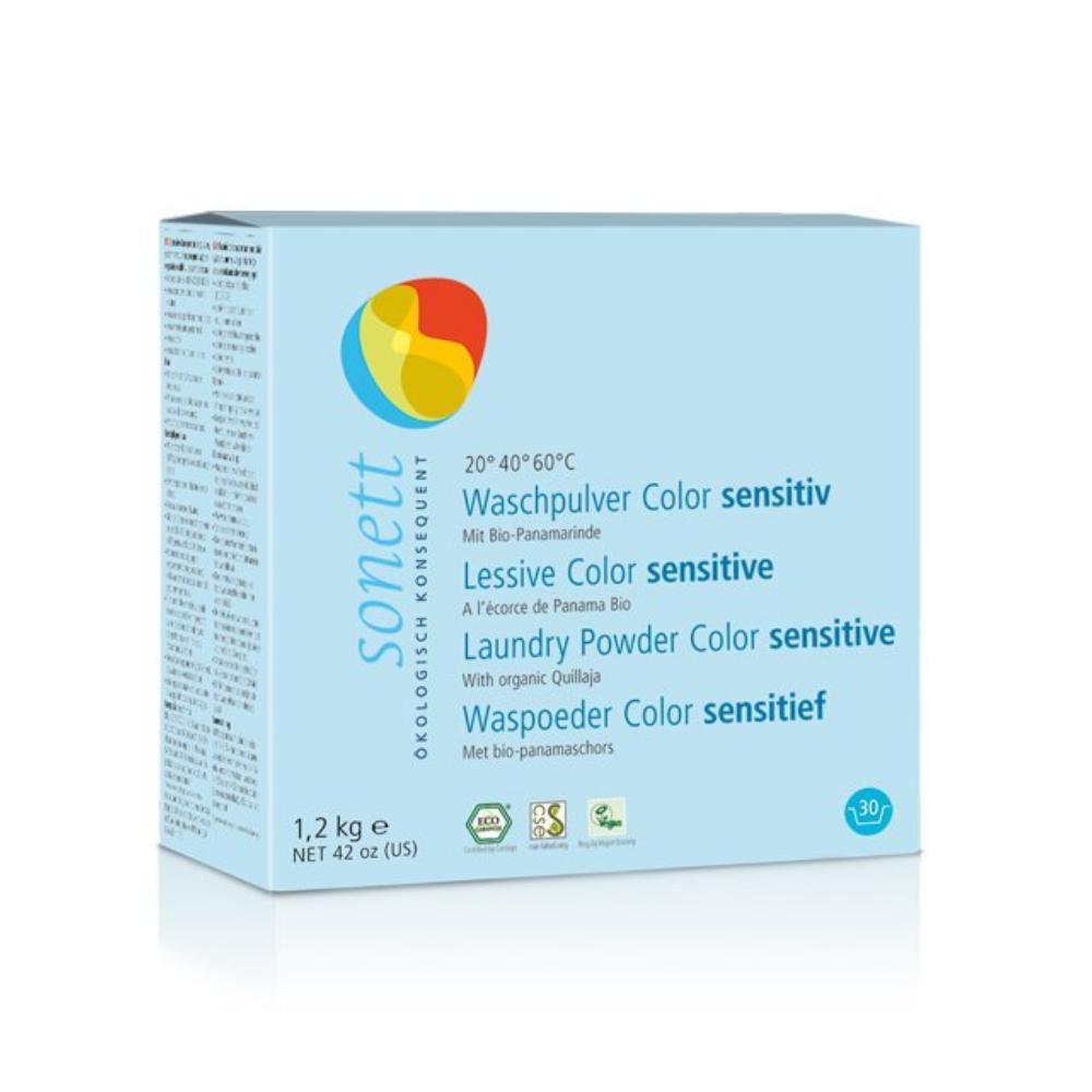 Koncentrovaný prášok na pranie Color Senzitív Sonett 1,2 kg