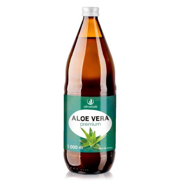 Šťava z aloe vera Premium Allnature 1000 ml