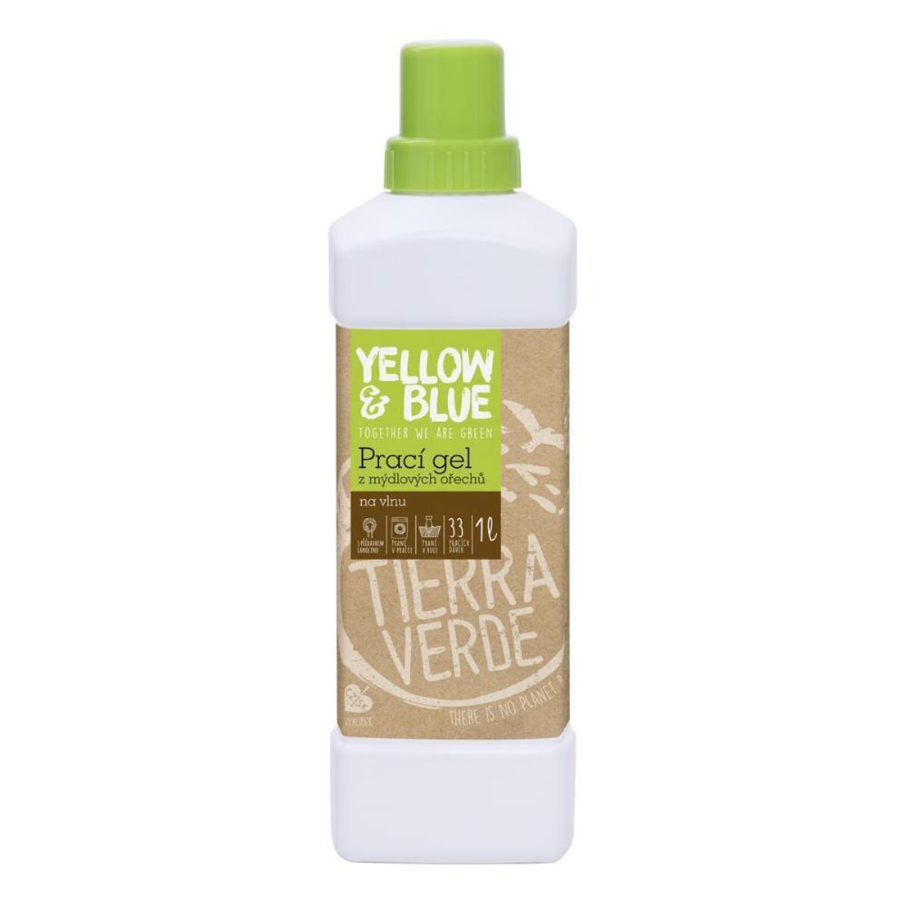 Yellow & Blue prací gél vlna Tierra Verde 1 L