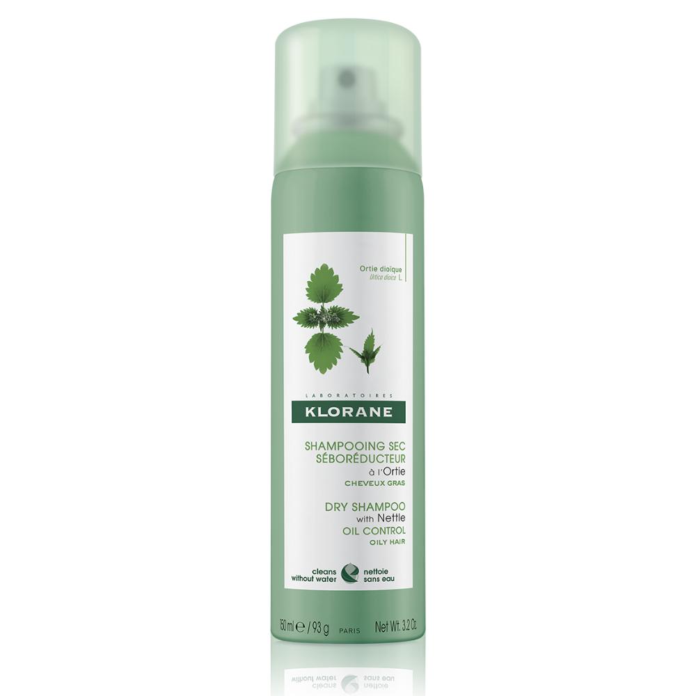 Seboregulačný suchý šampón žihľava Klorane 150 ml