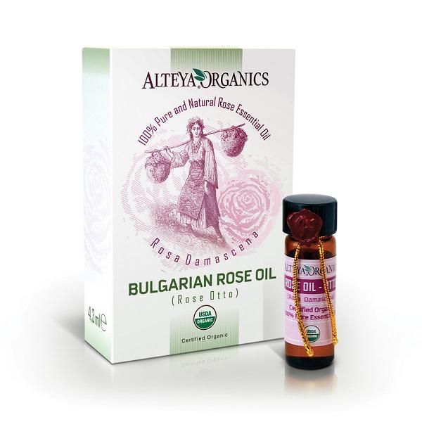 Ružový olej 100% Bio Alteya 1 ml
