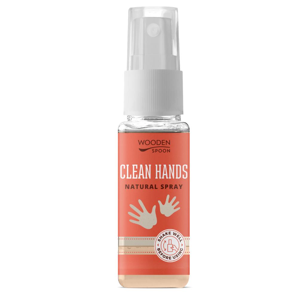 Prírodný dezinfekčný čistiaci sprej na ruky Wooden Spoon 50 ml