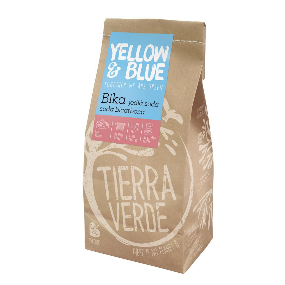 Yellow & Blue Bika jedlá sóda Tierra Verde 1 kg