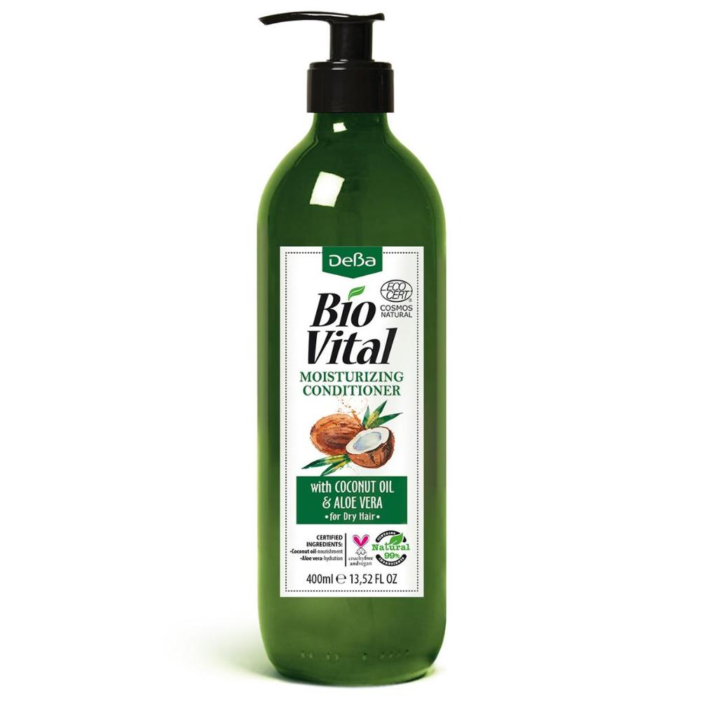 Hydratačný kondicionér s aloe vera BioVital DeBa 400 ml