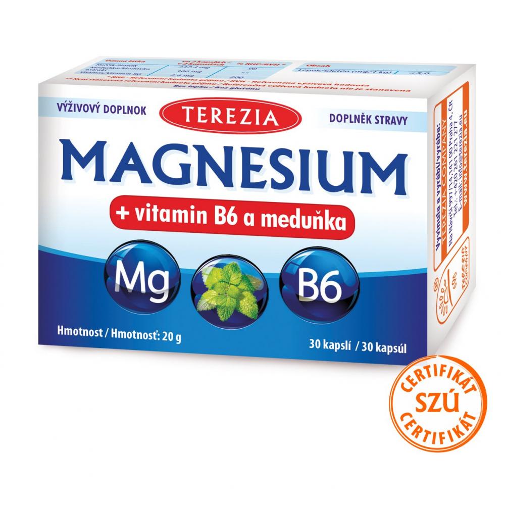 Magnézium + vitamín B6 a medovka TEREZIA 30 kapsúl