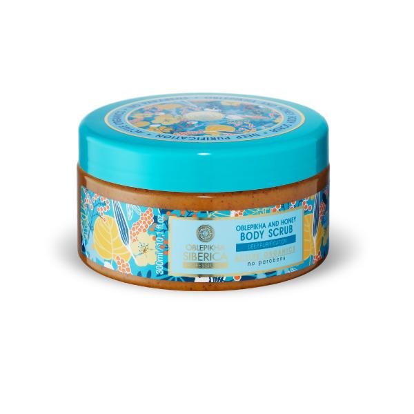 Rakytníkovo – medový telový peeling Natura Siberica 300 ml