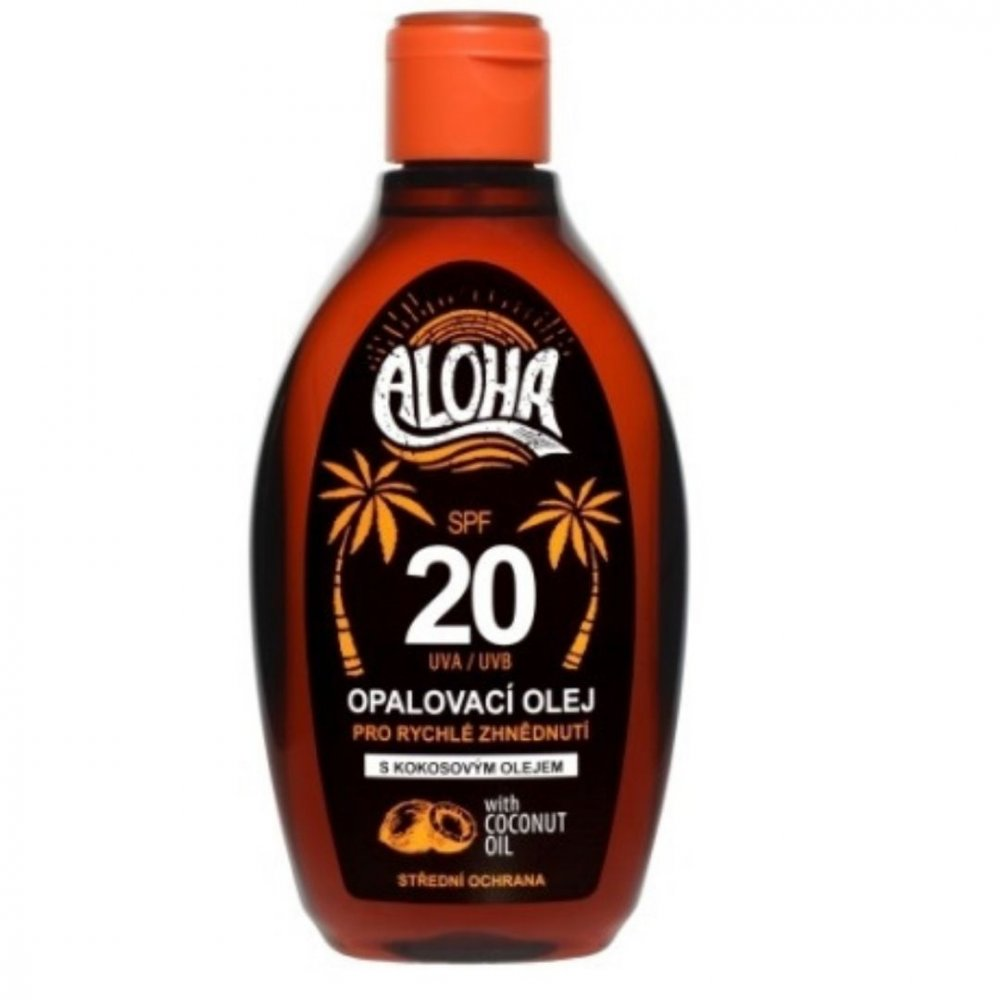 Opaľovací olej ALOHA SPF 20 Vivaco 200 ml