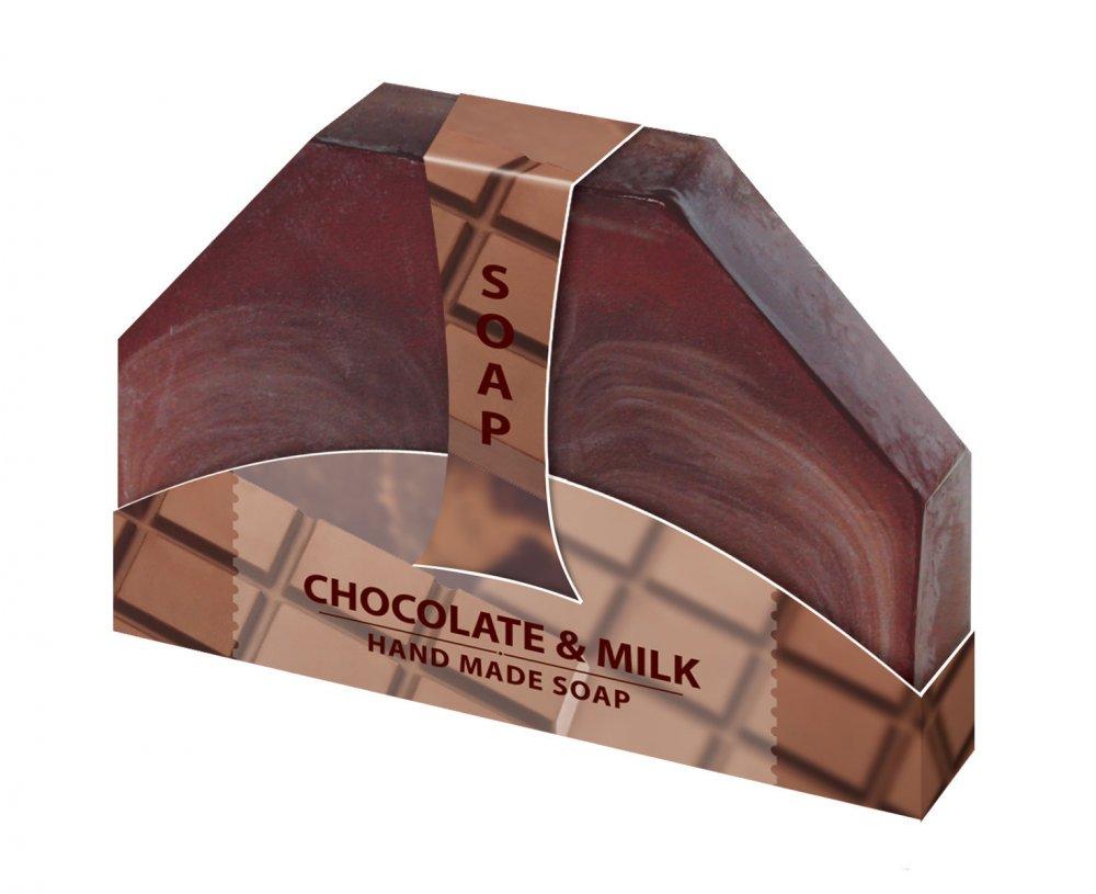 Glycerinové mydlo mliečna čokoláda ručne vyrabané 80g Biofresh