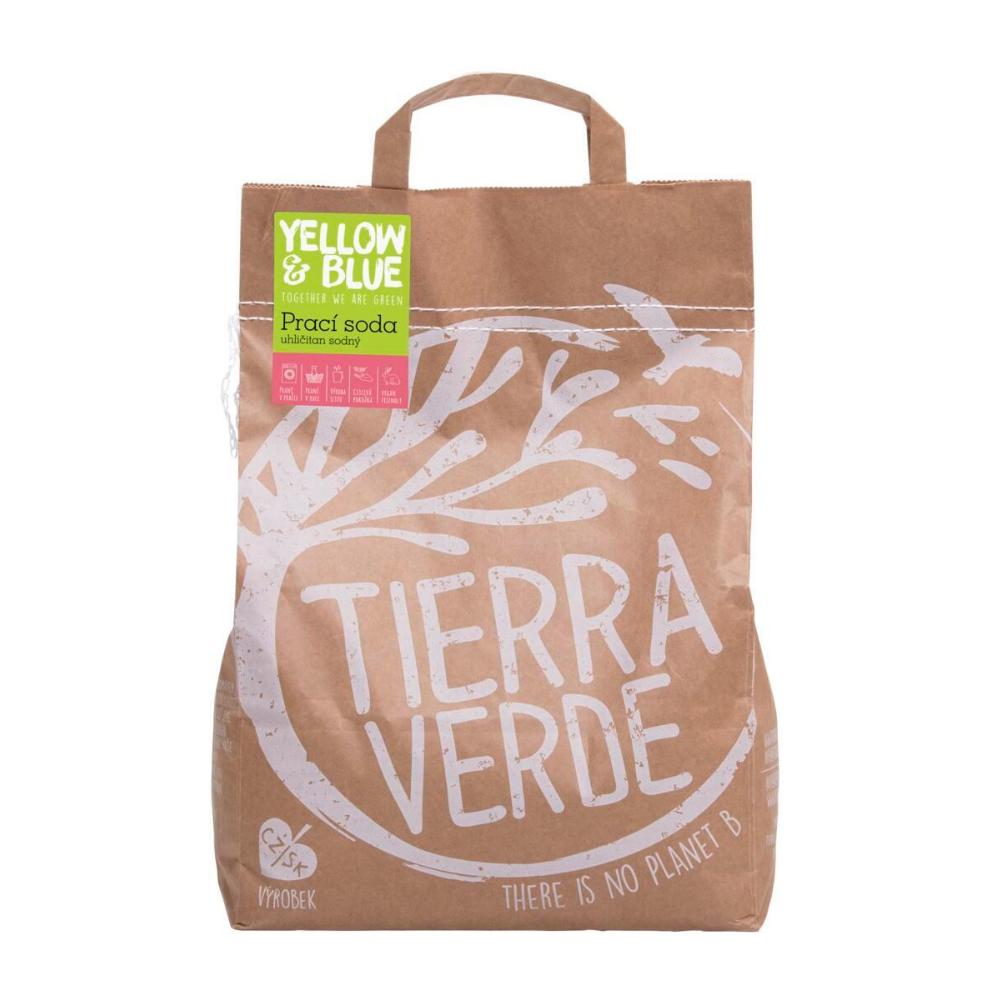 Yellow & Blue pracia sóda - uhličitan sodný Tierra Verde 5 kg