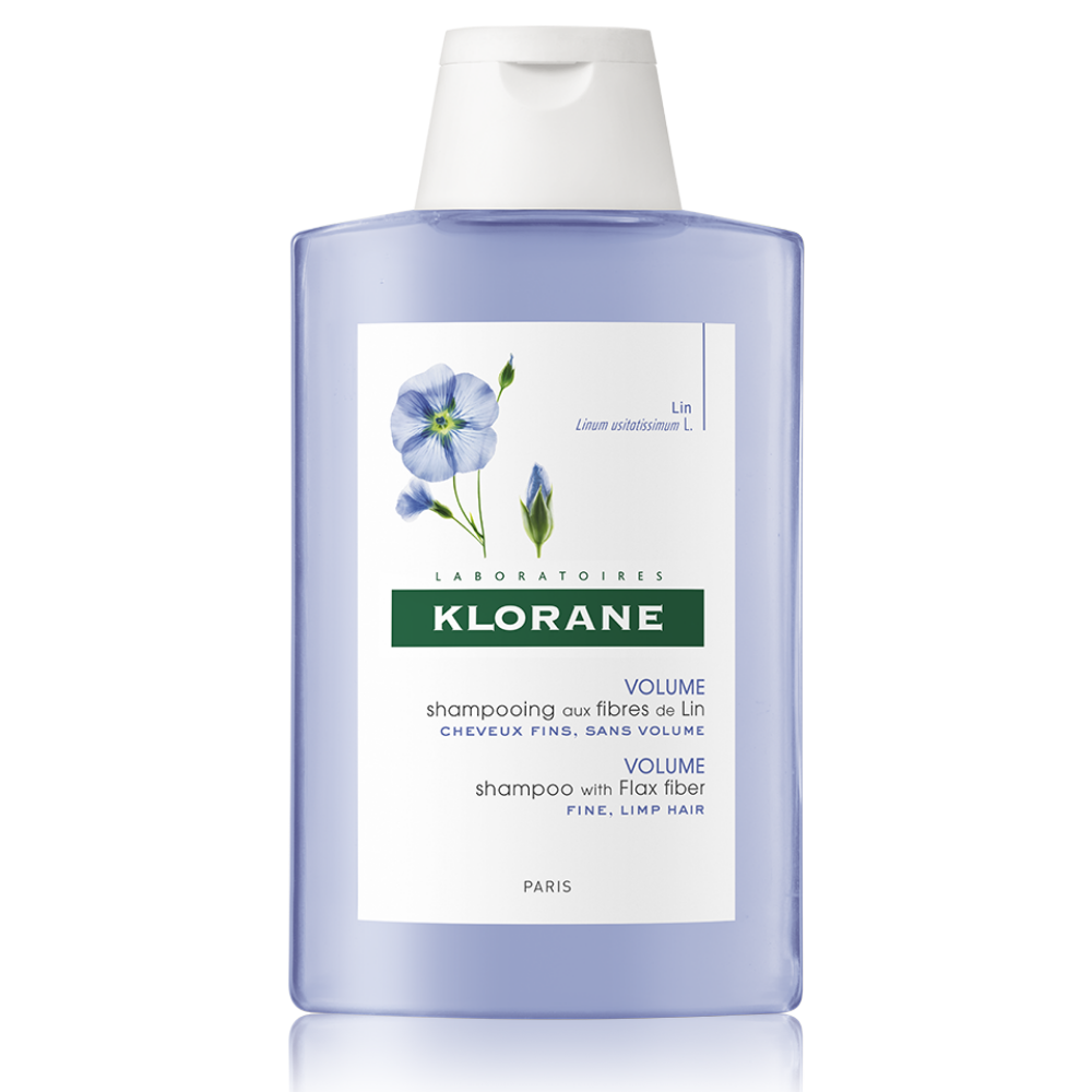 Šampón s ľanovými vláknami Klorane 200 ml