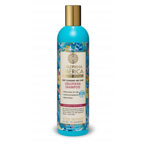 Rakytníkový šampón pre normálne a mastné vlasy Natura Siberica 400 ml