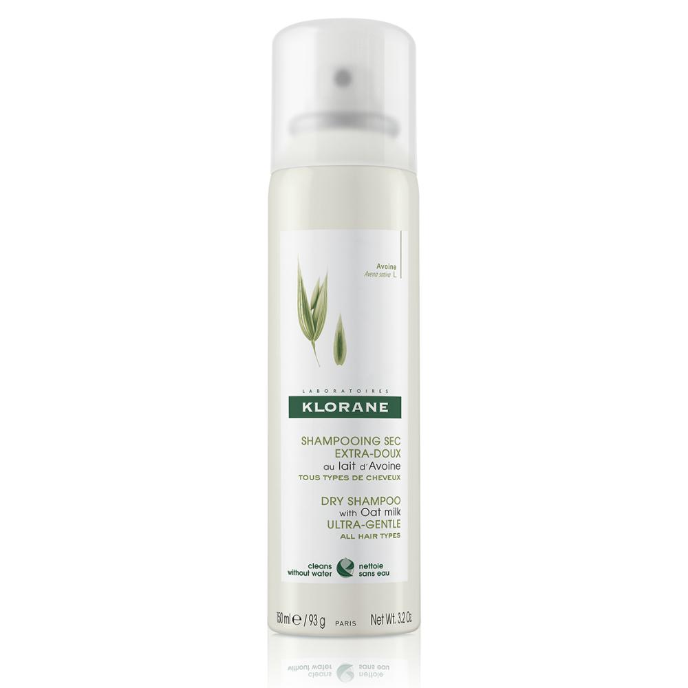 Jemný suchý šampón s ovseným mliekom Klorane 150 ml