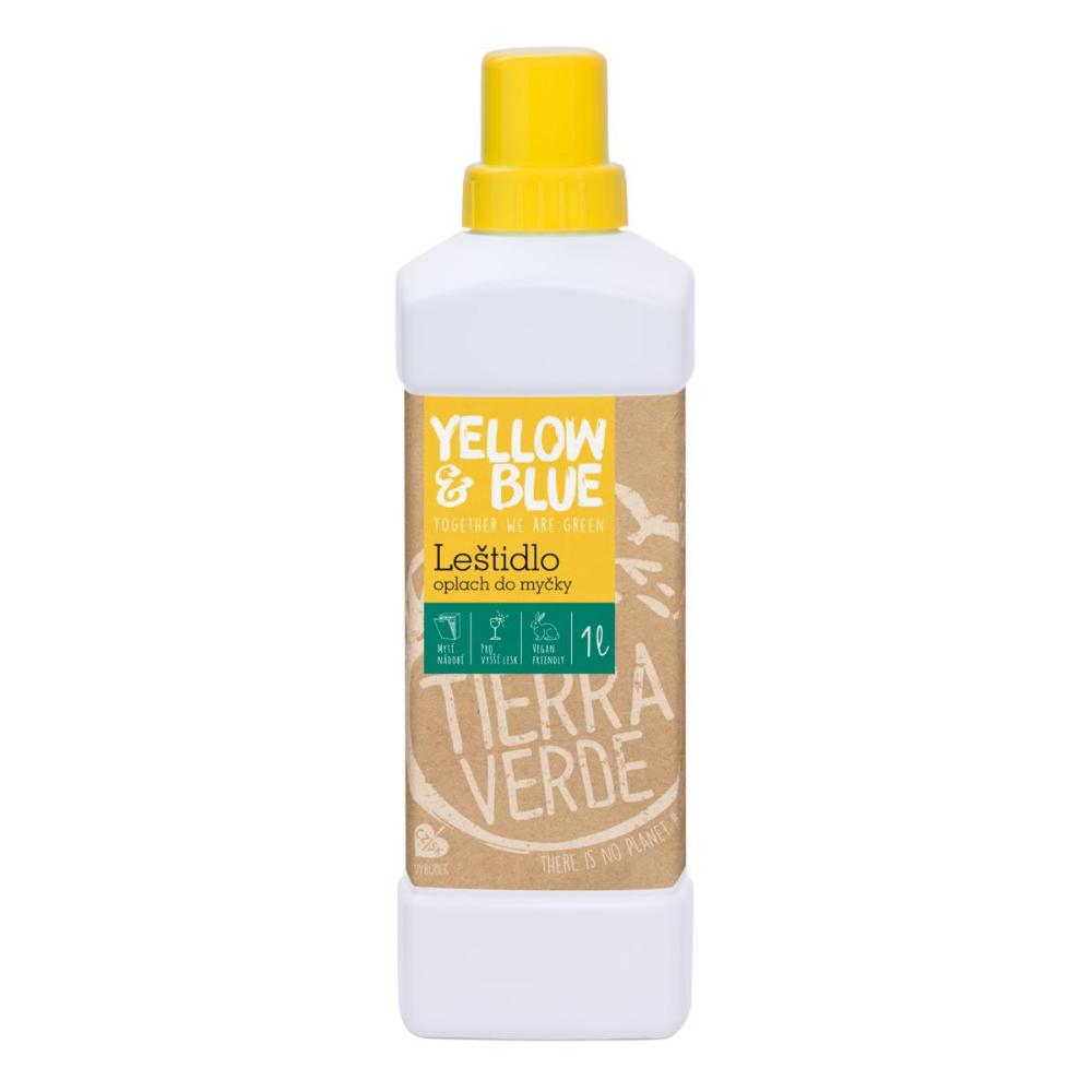 Yellow & Blue Leštidlo do umývačky Tierra Verde 1 L