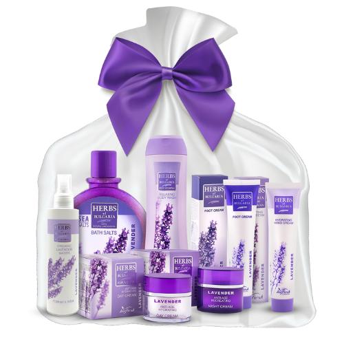 Darčekový balíček luxusná bulharská Lavender