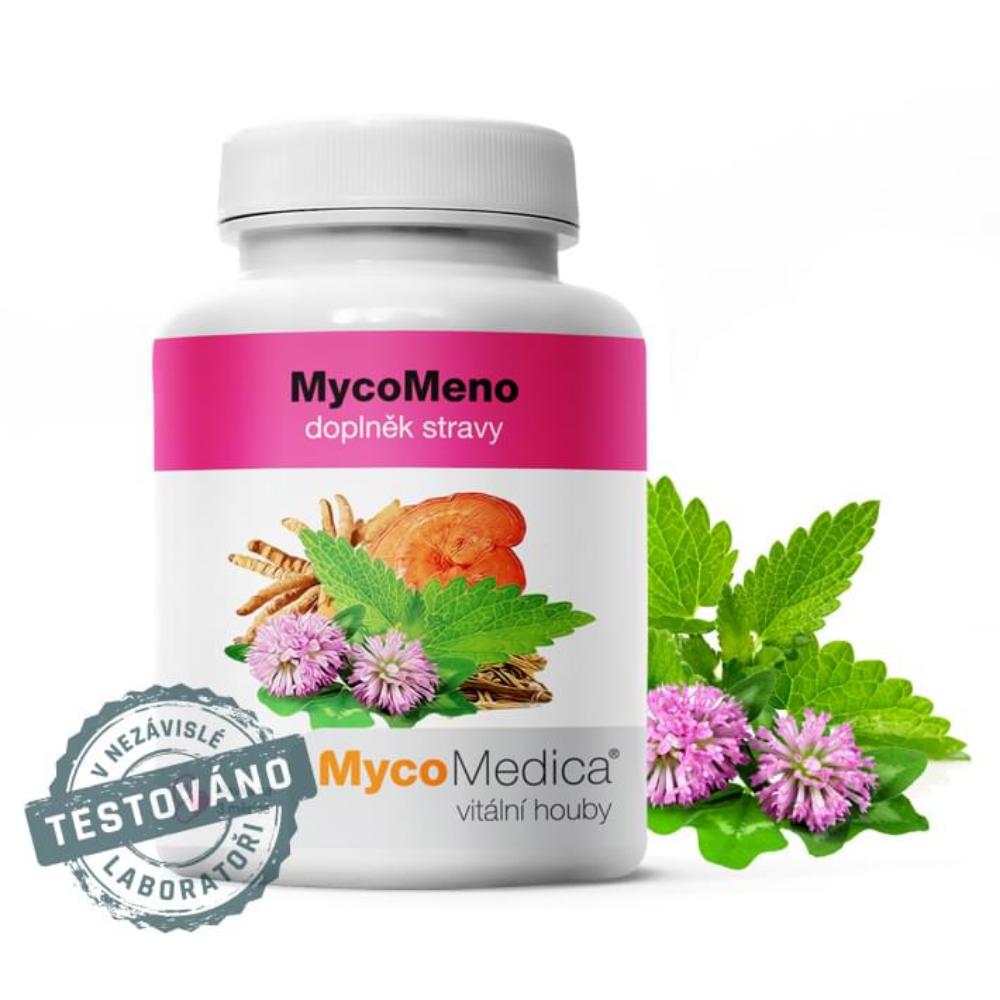 MycoMeno v optimálnej koncentrácii MycoMedica 90 želatínových kapsúl