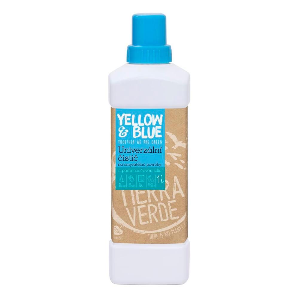 Yellow & Blue univerzálny čistič Tierra Verde 1 L