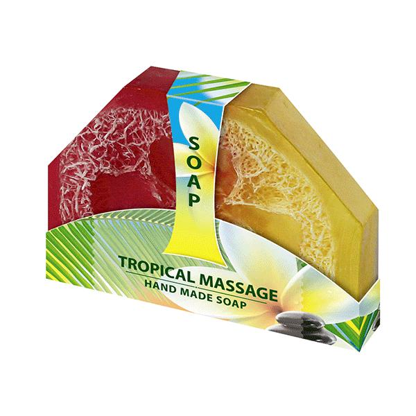 Glycerínové mydlo tropical ručne vyrábané 80g Biofresh