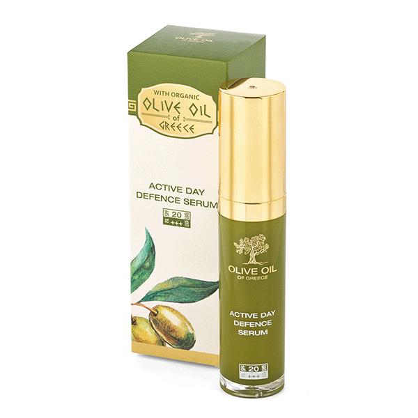 Sérum na pleť s olivovým olejom