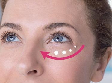 ako aplikovat ocny krem