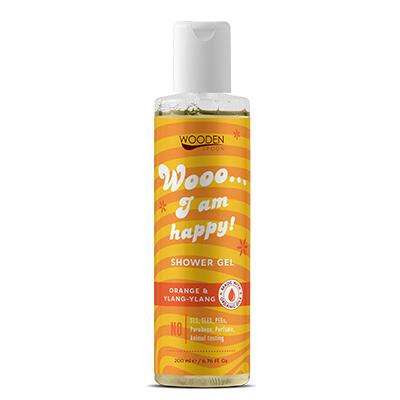 Sprchový gél: I am happy WoodenSpoon 200 ml