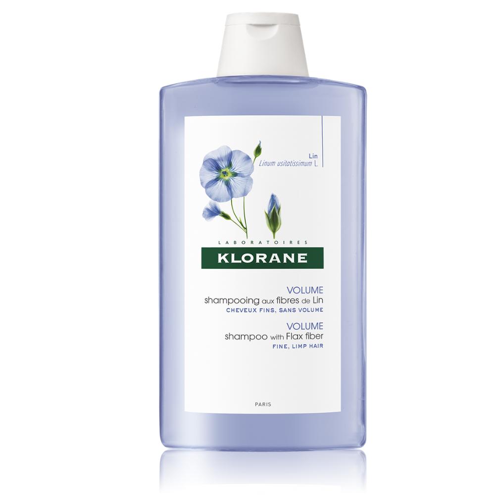 Šampón s ľanovými vláknami Klorane 400 ml