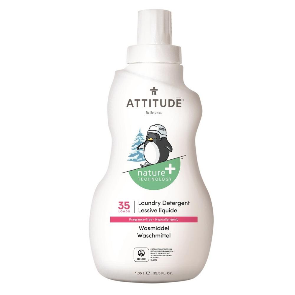Prací gél pre deti bez vône Attitude 1050 ml