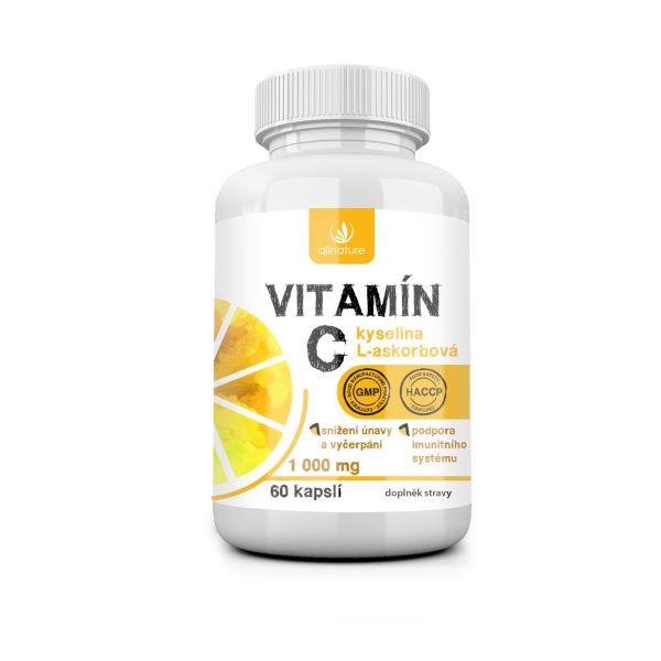 Vitamín C 1000 mg Allnature 60 tabliet