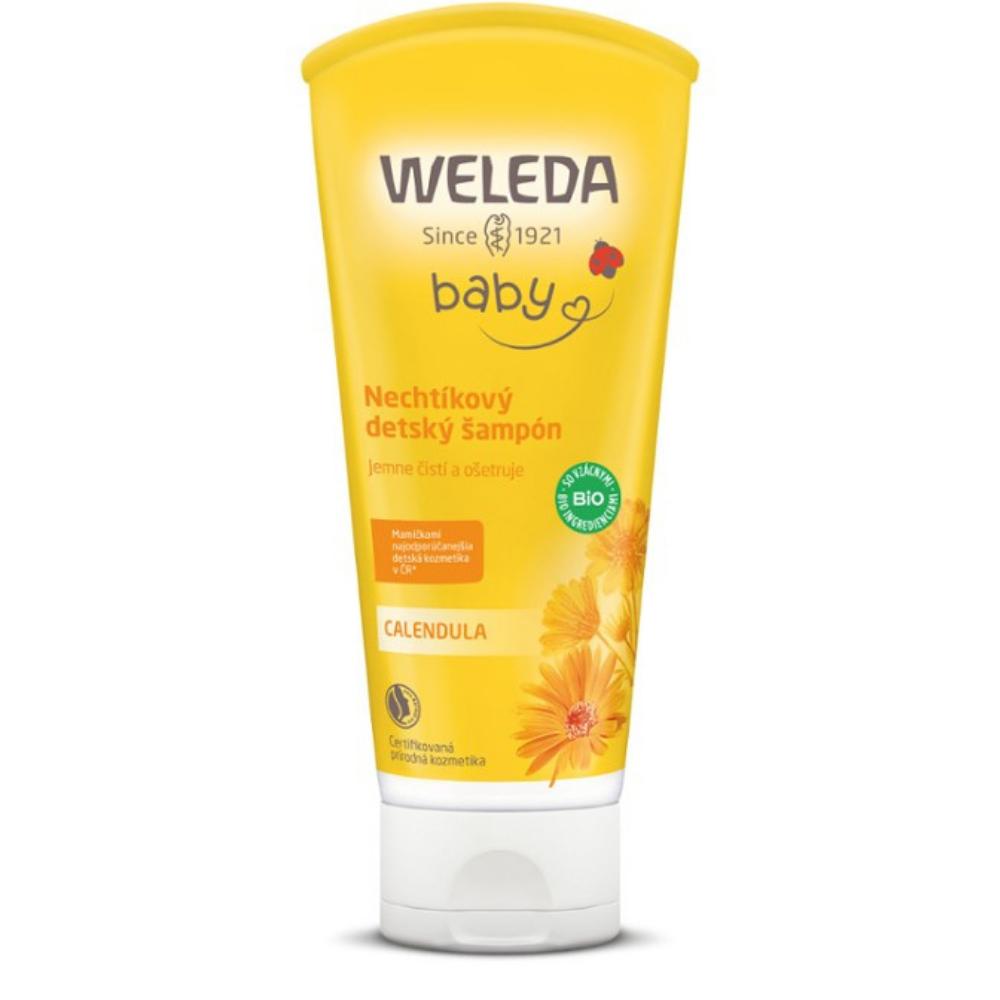 Nechtíkový detský šampón Weleda 200 ml