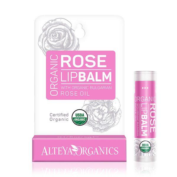 Balzám na rty s růžovým olejem Alteya 5 g