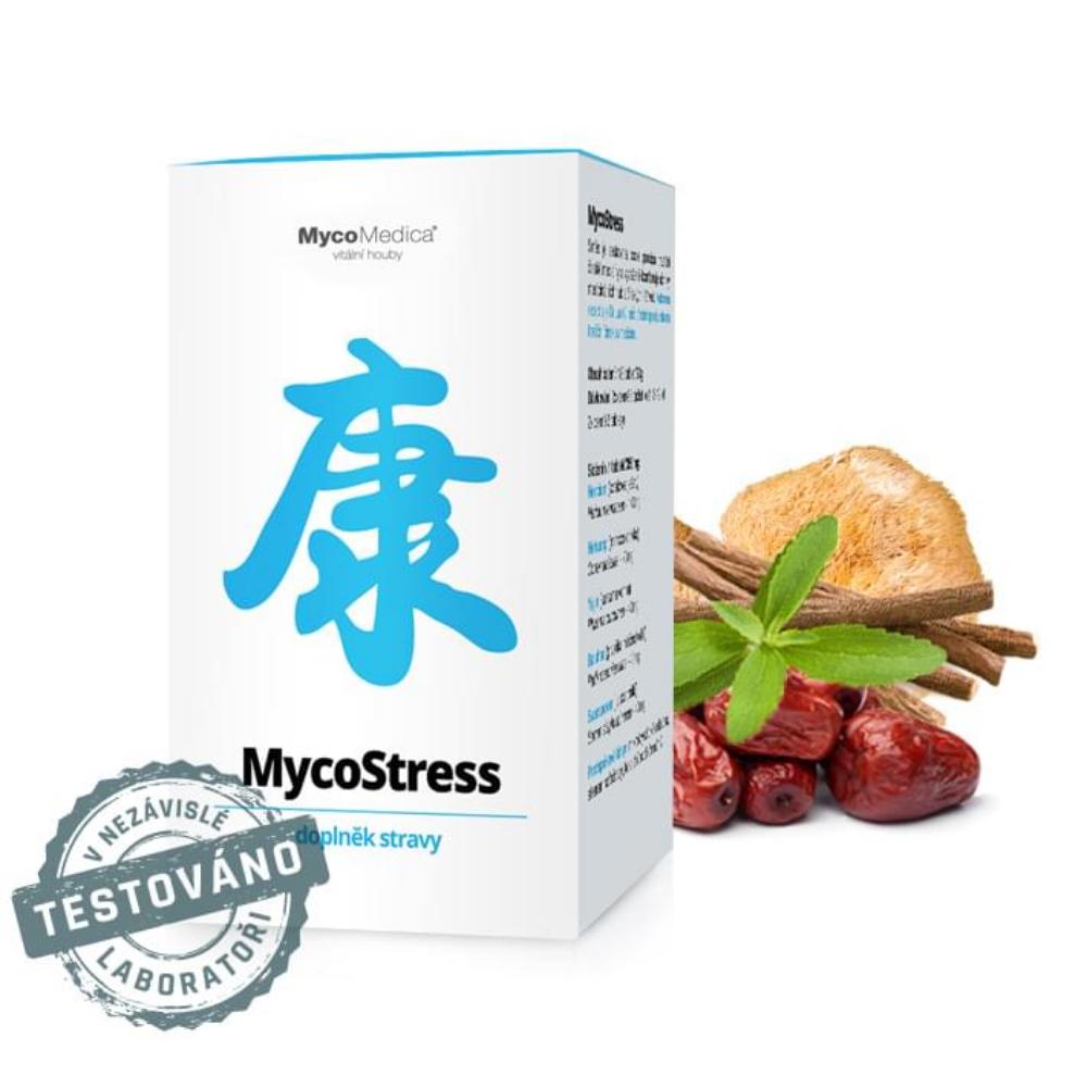 MycoStress v optimálnej koncentrácii MycoMedica 180 tabliet