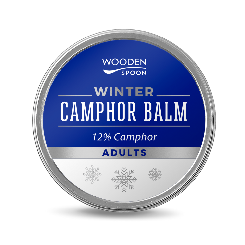 Zimný balzám s gáfrom 12% WoodenSpoon 60 ml
