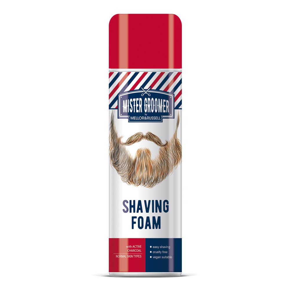 Pena na holenie s aktívnym uhlím Mr Groomer by Mellor&Russell 250 ml