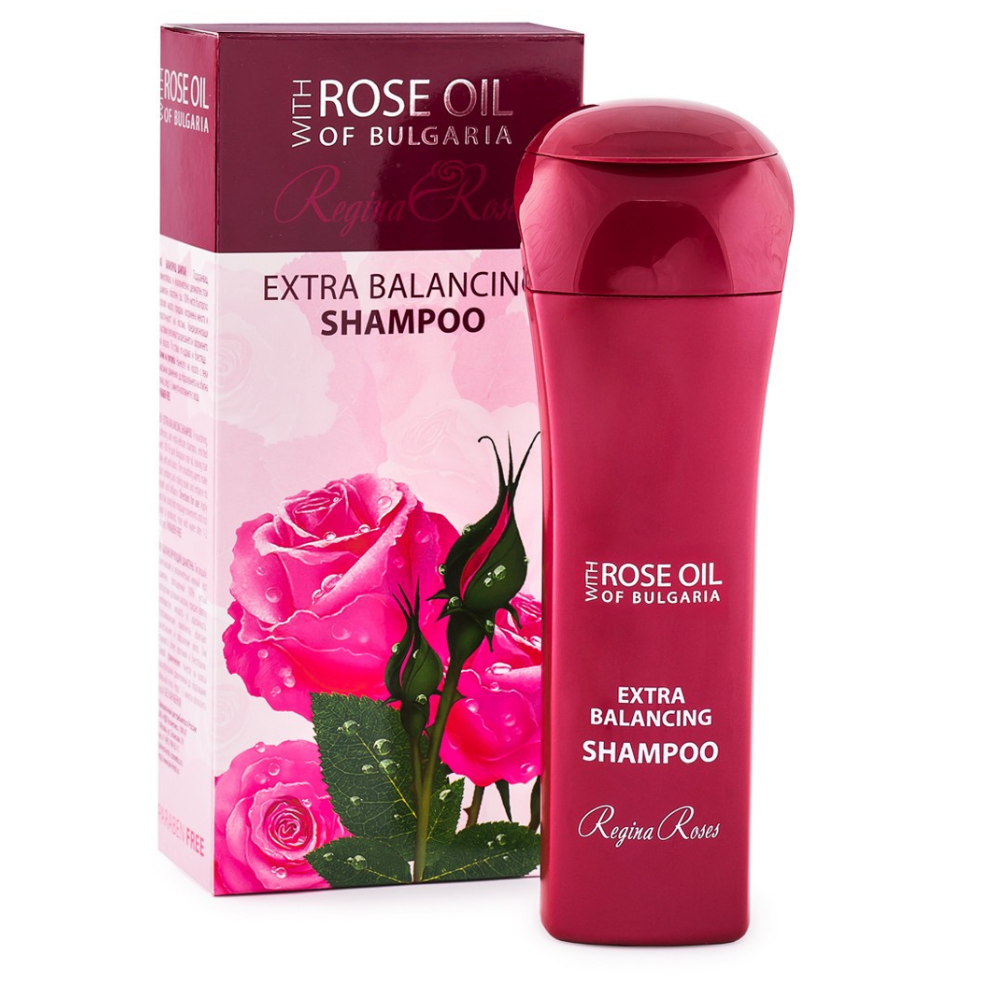 Šampón na vlasy s ružovým olejom 230 ml Biofresh
