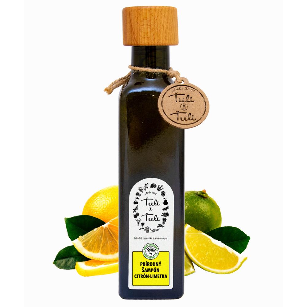 Prírodný šampón citrón-limetka Ťuli a Ťuli 250 ml