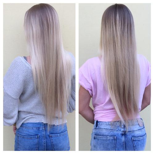 Fotka vlasov zozadu