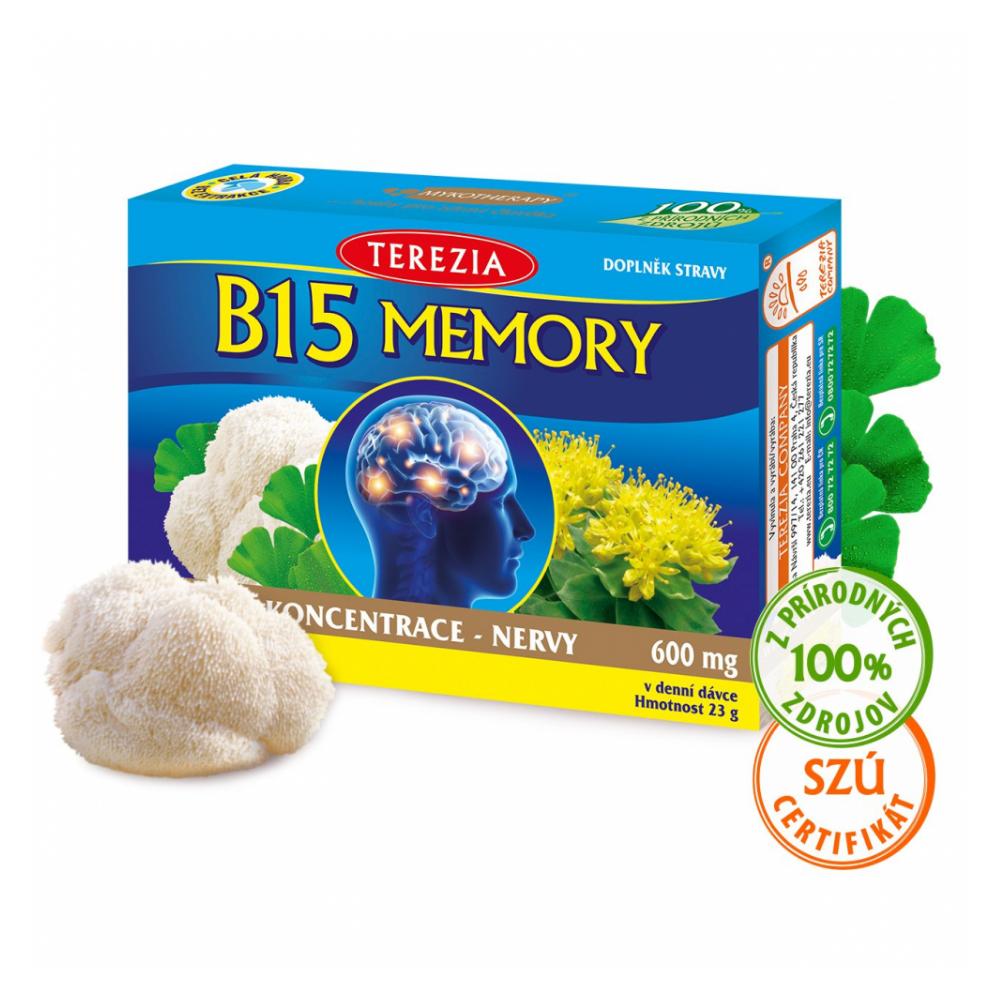 Vitamín B15 pamäť TEREZIA 60 kapsúl