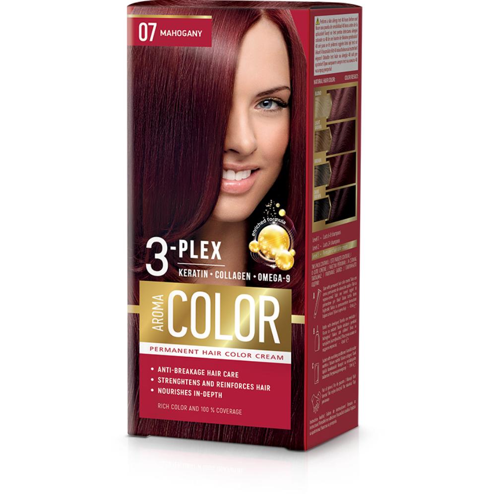 Farba na vlasy - mahagón č.07 Aroma Color