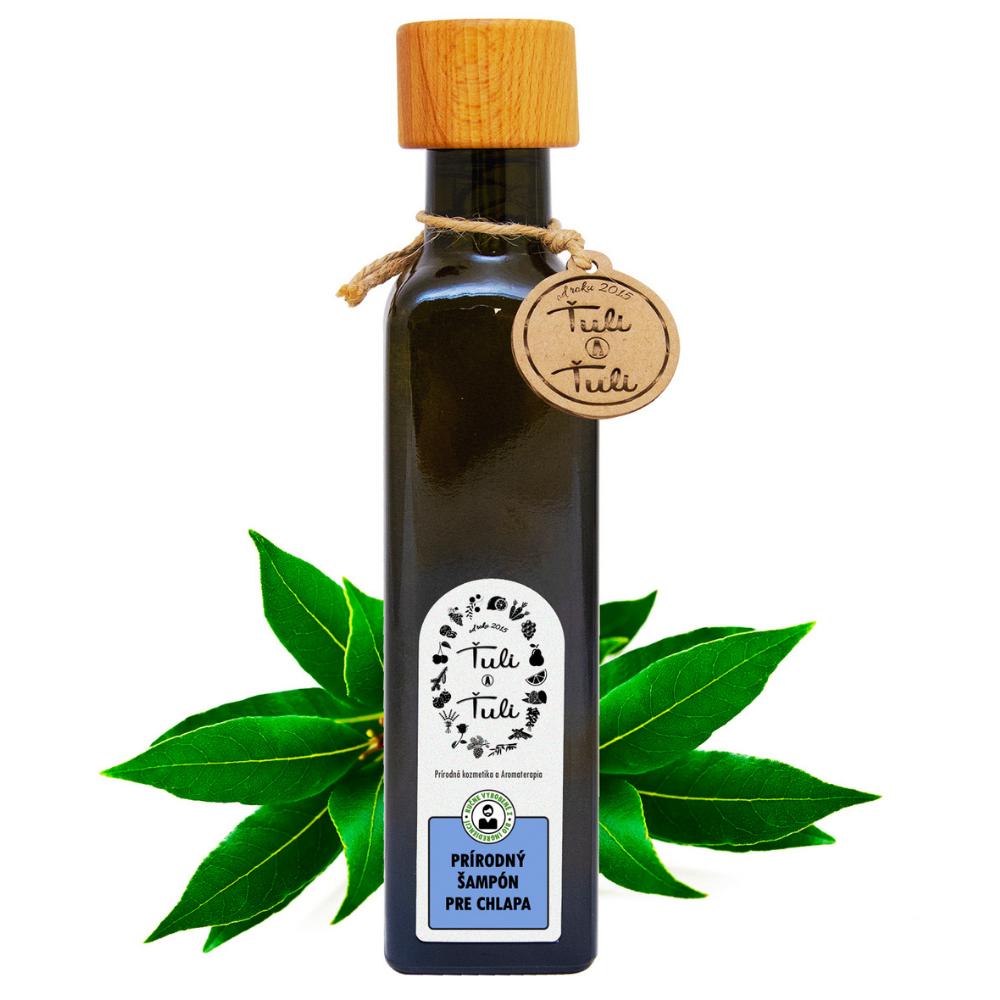 Prírodný šampón gáfor-nielen pre chlapa Ťuli a Ťuli 250 ml