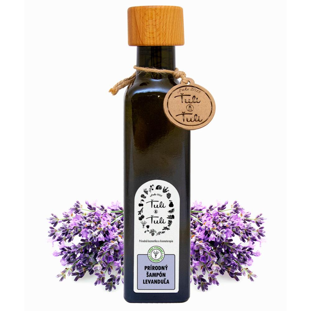 Prírodný šampón levanduľa Ťuli a Ťuli 250 ml