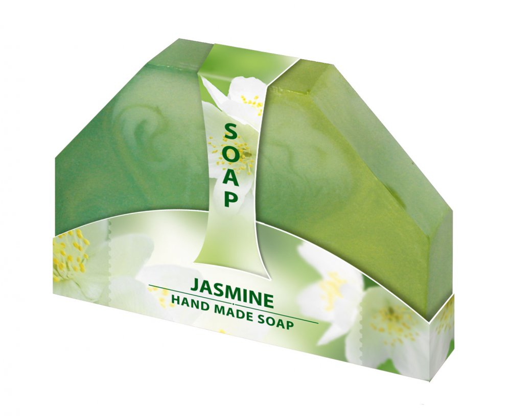 Glycerínové mydlo jasmín ručne vyrabané 80g Biofresh