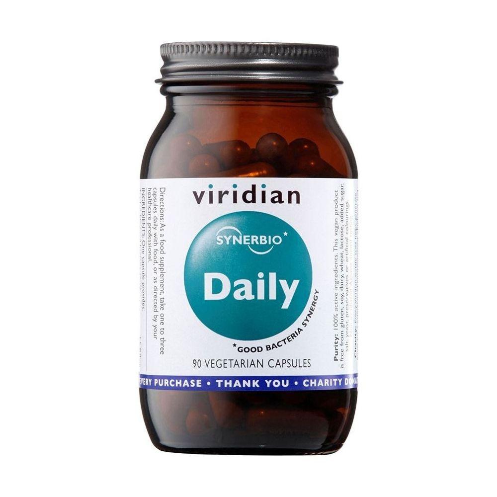 Zmes probiotík a prebiotík - Synerbio Daily Viridian 90 kapsúl