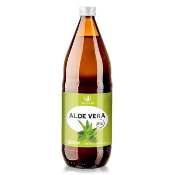 Šťava z aloe vera BIO Allnature 1000 ml